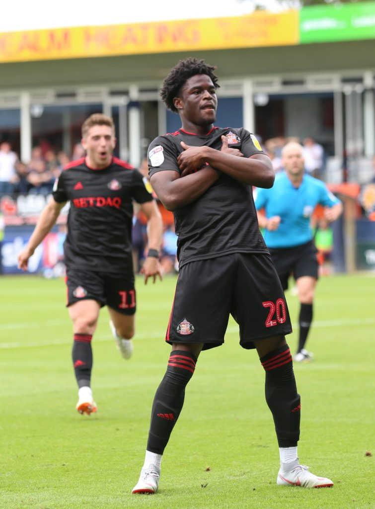 Bordeaux have signed Sunderland striker Josh Maja, the two clubs have announced.
