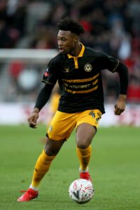 Bristol City have recalled forward Antoine Semenyo from his loan spell at Newport.