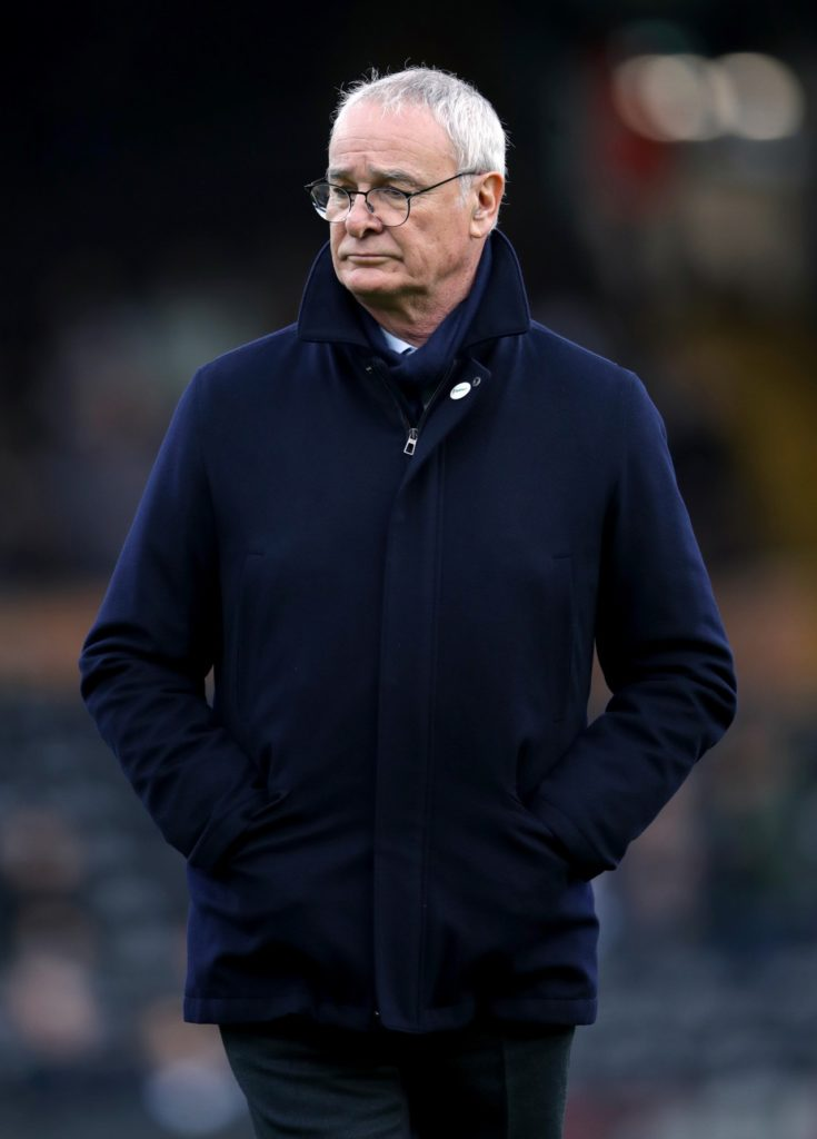 Claudio Ranieri is seeking an experienced 'leader' to add to his Fulham squad to help the Cottagers avoid Premier League relegation.