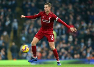 Liverpool midfielder Jordan Henderson has demanded an improvement from the Reds when they take on West Ham on Monday.