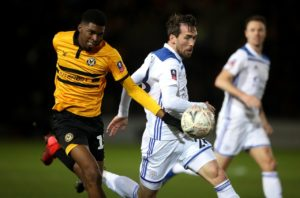 Bristol City midfielder Tyreeq Bakinson has extended his loan spell at Newport until the end of the season.