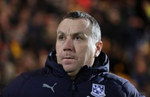Tranmere manager Micky Mellon will assess the fitness of defender Mark Ellis ahead of his side's home tie with Swindon.