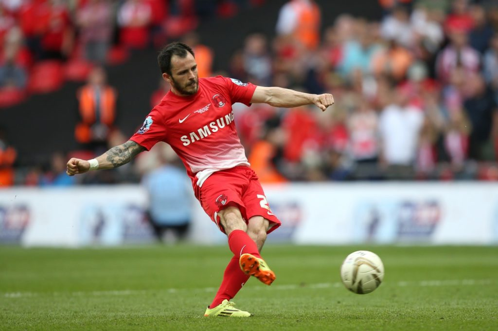 Chris Dagnall has returned to Tranmere until the end of the season.