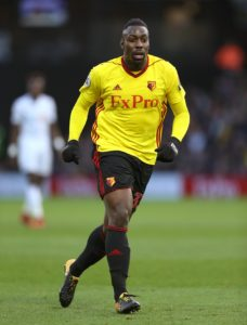Watford striker Stefano Okaka has joined Udinese on loan until the end of the season.