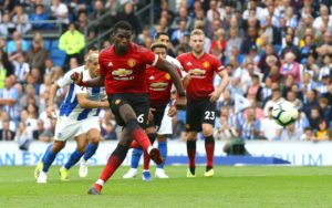 Manchester United boss Ole Gunnar Solskjaer has reportedly offered Paul Pogba advice on his controversial penalty taking technique.