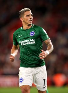Anthony Knockaert says he is hopeful of being handed a starting opportunity when Brighton travel to Manchester United on Saturday.