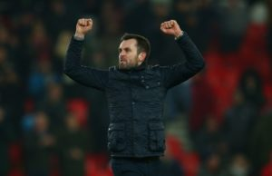 Nathan Jones suggested Marcelo Bielsa's open and honest press briefing backfired as Stoke ended their long wait for a win and dented Leeds' promotion chances.