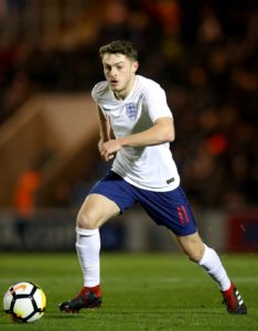 Grimsby have extended Elliot Embleton's loan spell until the end of the season.