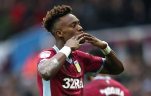 Tammy Abraham is set to stay at Aston Villa for the rest of the season.