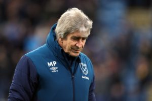 West Ham boss Manuel Pellegrini says it would have been 'impossible' for his side to play any worse in Tuesday's defeat to Wolves.