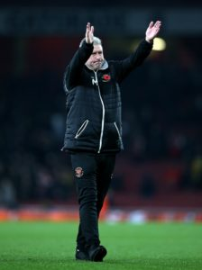 Terry McPhillips believes Blackpool can take solace from their narrow defeat to Arsenal in the Carabao Cup as the teams prepare to meet again this weekend.