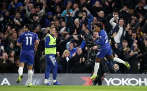 Willian dismissed the prospect of a January move from Chelsea after his strike earned a 2-1 win over Newcastle on Saturday.