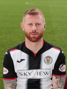 Adam Eckersley has become the latest player to depart St Mirren after joining Forfar on loan until the end of the season.