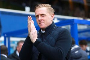 Garry Monk says he is finding it tough to bring in an attacker this month due to the transfer restrictions Birmingham City are under.