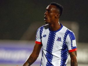 Yannick Zakri is back at Maritzburg United after disappearing without a trace during the Christmas break.