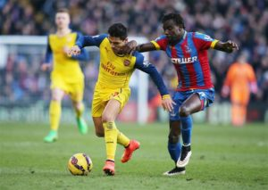 Crystal Place manager Roy Hodgson is without Pape Souare for the visit of Watford on Saturday due to injury.