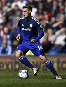 Cardiff have allowed winger Anthony Pilkington to leave the club and join Championship outfit Wigan on a free transfer.