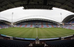 Huddersfield Town have confirmed that sporting director Olaf Rebbe has left the club by mutual consent.