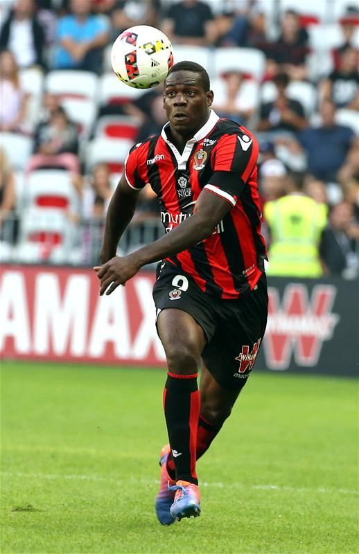 Nice boss Patrick Vieira has claimed that striker Mario Balotelli may still see out his contract at the club.