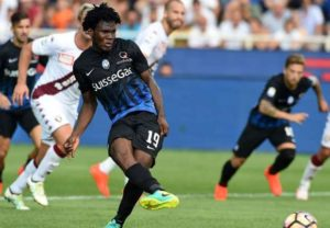 AC Milan ace Franck Kessie, who has been linked with a move to Chelsea, says he is loving life at the San Siro.
