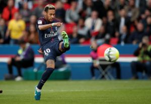 Neymar's father has moved to rubbish reports the Paris Saint-Germain striker is looking to engineer a move back to Barcelona.