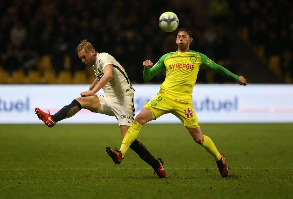 Cardiff have confirmed they have signed Nantes striker Emiliano Sala for an undisclosed club-record fee.