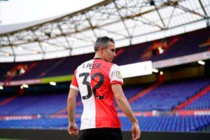 Robin van Persie praised the 'spirit' of the Feyenoord team after they thrashed De Klassieker rivals Ajax 6-2 at De Kuip on Sunday.