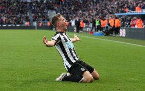 Newcastle United scored a late equaliser as Rafa Benitez's side were held to a 1-1 draw by Blackburn in the third round of the FA Cup.