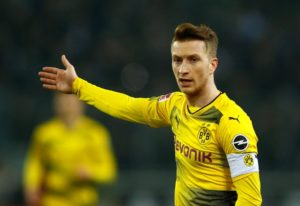 Borussia Dortmund have been boosted by the news captain Marco Reus' injury suffered in training is not as bad as first feared.