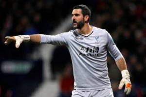 Crystal Palace goalkeeper Julian Speroni is set to be handed a rare outing for Saturday's trip to Liverpool.