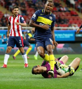 Everton have been linked with a January swoop for Yerry Mina's Colombian international teammate Wilmar Barrios of Boca Juniors.