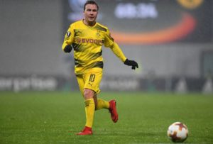 Borussia Dortmund midfielder Mario Gotze says improvement is needed after finally forcing his way into Lucien Favre's plans.