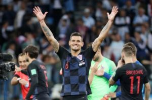 Croatia defender Dejan Lovren has been handed a one-match international ban following comments he made on social media.