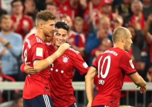 Bayern Munich midfielder Leon Goretzka was delighted with Friday's 3-1 win over Hoffenheim and is now targeting the Bundesliga title.