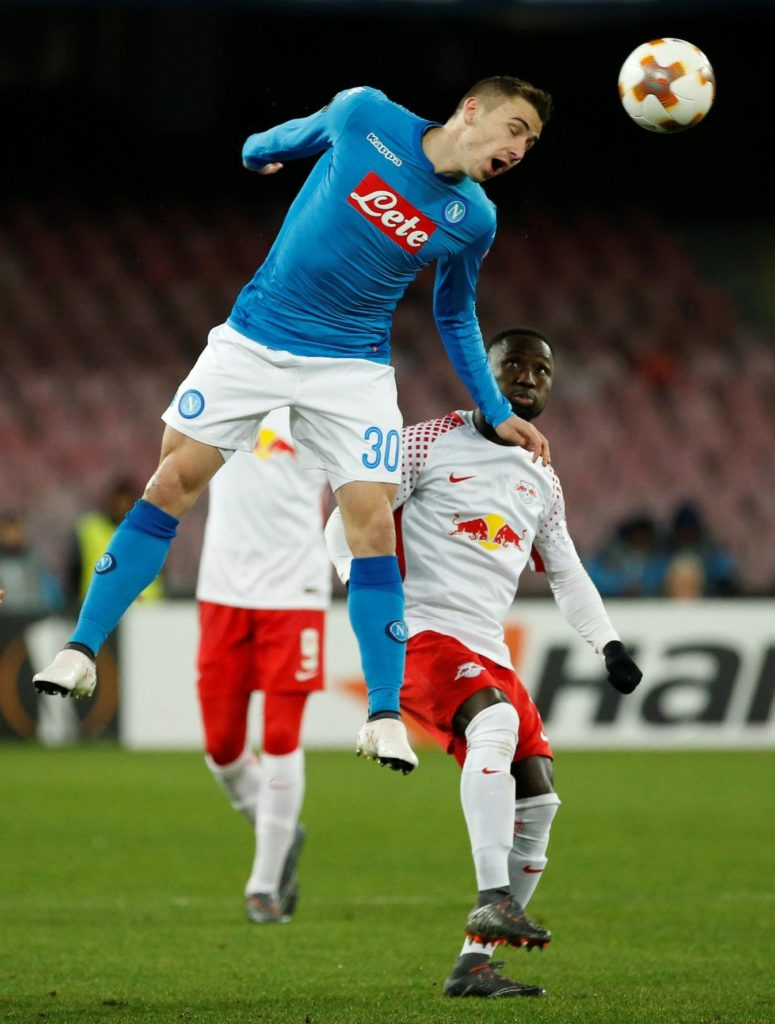 Napoli president Aurelio De Laurentiis has hinted that Marko Rog could be allowed to leave the club this month.