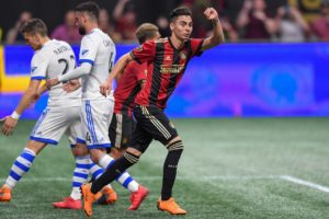 Miguel Almiron's agent Daniel Campos says he has spoken to Newcastle United but that they must raise their offer for the Atlanta man.