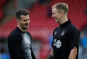 Burnley boss Sean Dyche will only listen to approaches for Joe Hart, Tom Heaton or Nick Pope if the player concerned wants him to.