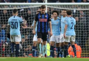 Manchester City romped into the fourth round of the FA Cup as they battered Rotherham United 7-0 at the Etihad Stadium.