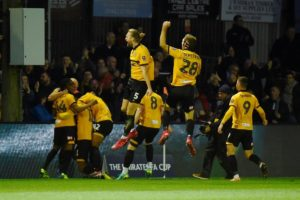 Leicester City have been dumped out of the FA Cup third round after losing 2-1 to League Two's Newport County at Rodney Parade.