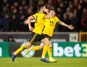 Premier League leaders Liverpool crashed out of the FA Cup third round after losing 2-1 against Wolves at Molineux on Monday night.