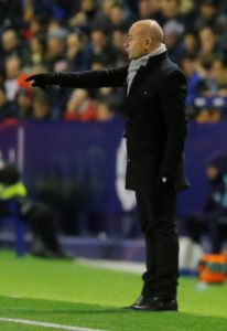 Levante boss Paco Lopez has revealed his pride after his side beat Barcelona 2-1 in the first-leg of their Copa del Rey tie on Thursday.