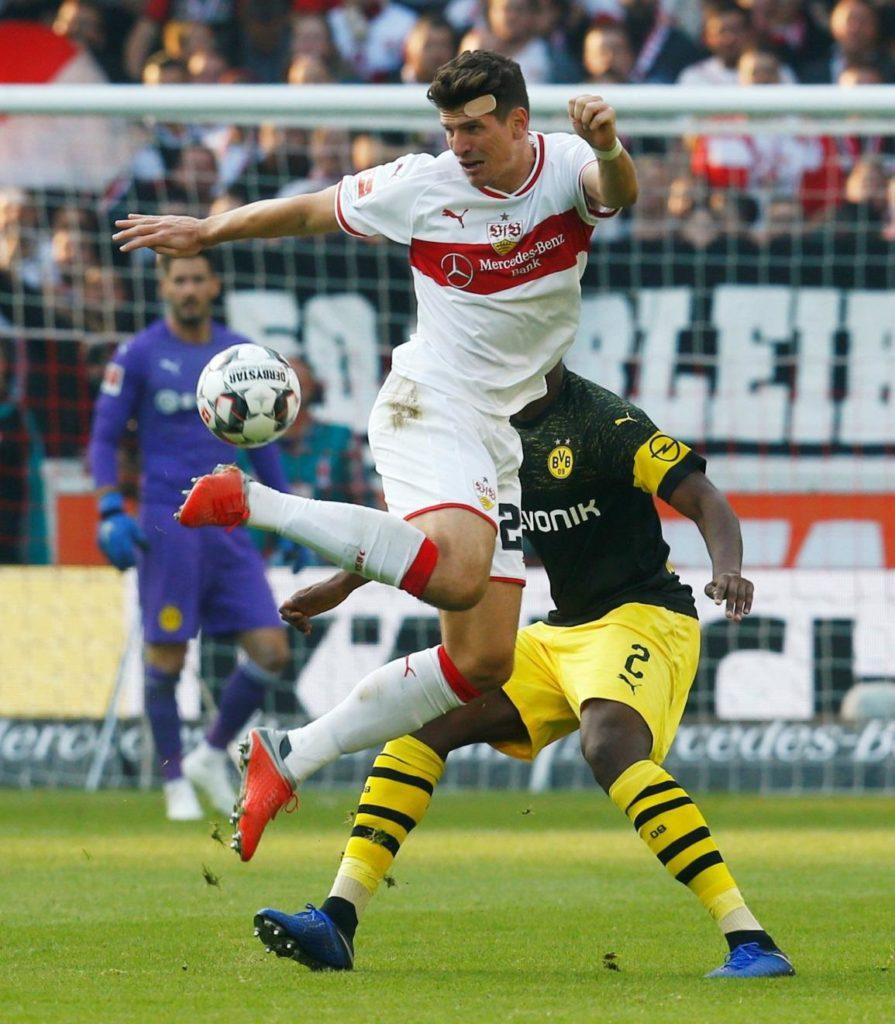 Mario Gomez is confident Stuttgart have enough quality to survive in the Bundesliga this season.