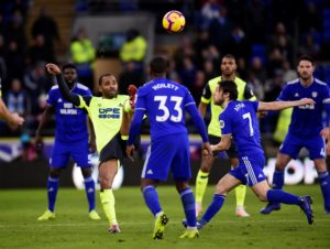 Huddersfield Town brought their eight-match losing run in the Premier League to an end by drawing 0-0 at Cardiff City.