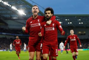 Mohamed Salah bagged himself a brace as Liverpool battled to a 4-3 victory in a thrilling encounter with Crystal Palace at Anfield.