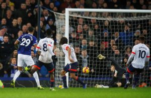 A pair of second half goals made the difference for Everton as they edged past Bournemouth 2-0 at Goodison Park.