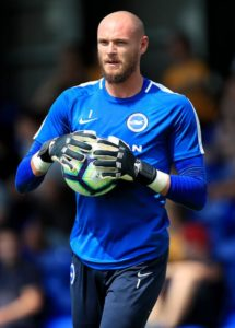 Brighton goalkeeper David Button has admitted to feeling 'frustrated' after losing to Liverpool and felt they deserved more.