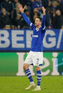Schalke boss Domenico Tedesco says he is planning to utilise striker Mark Uth in a deeper role on a regular basis this season.