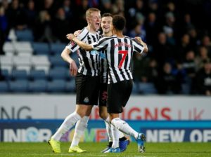 Sean Longstaff is hoping his goalscoring display in the FA Cup at Blackburn will help keep him in the Newcastle first team.