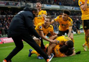 Diogo Jota bagged himself a hat-trick as Wolves broke Leicester hearts to beat the Foxes 4-3 in a thrilling encounter.
