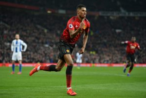 Ole Gunnar Solskjaer says Marcus Rashford is making a case for being the best current striker in the Premier League.
